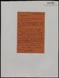 Carta manuscrita de Jordi Arquer a Bernard Lesfargues