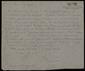 Carta manuscrita de Joan Brossa a Bernard Lesfargues