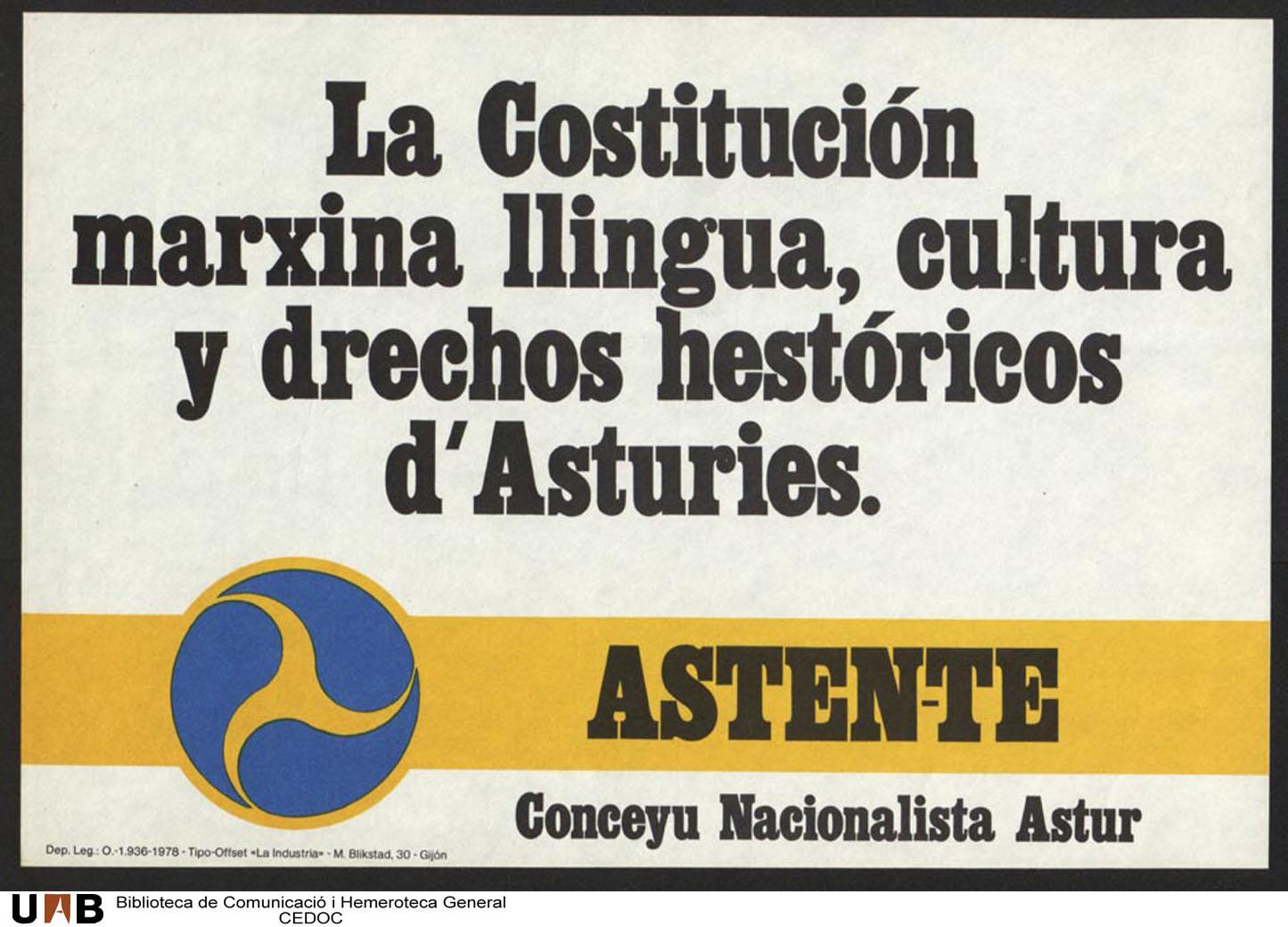Resultado de imagen de conceyu nacionalista astur