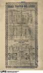 Gran Teatro del Liceo : lista de las compañías que han de trabajar en este teatro en el próximo año de 1847