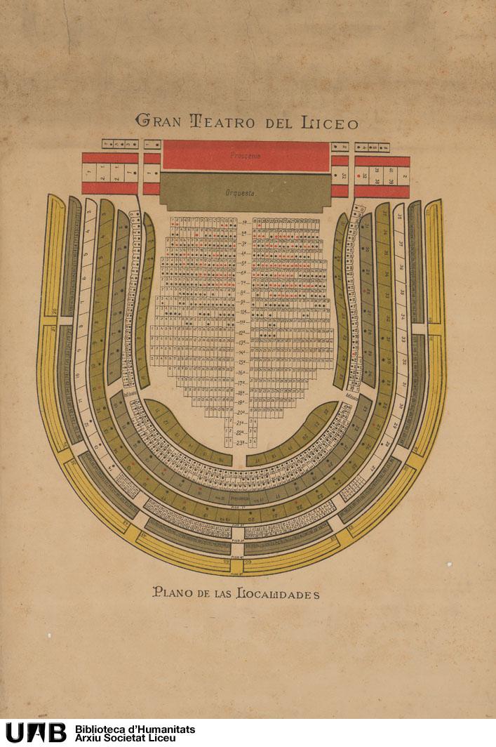Plano de las localidades