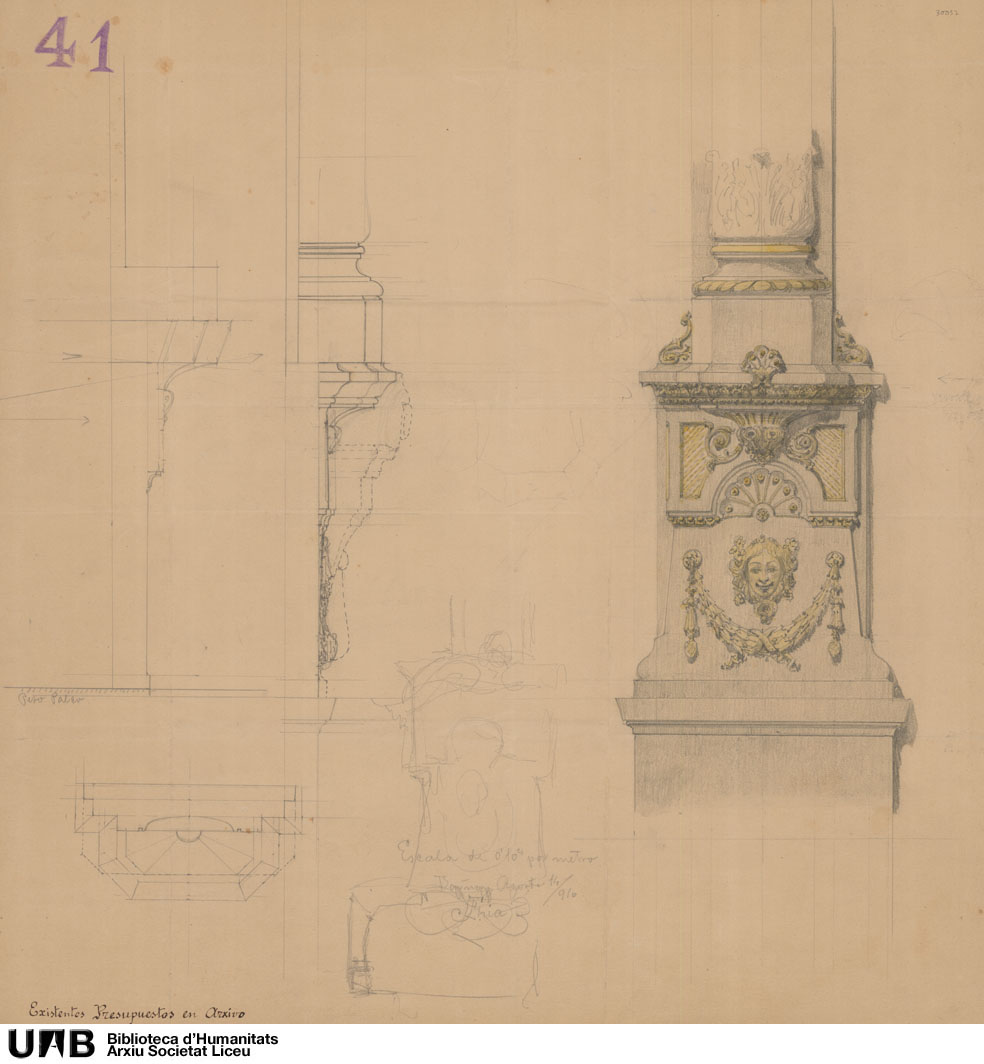 Basamento de columna