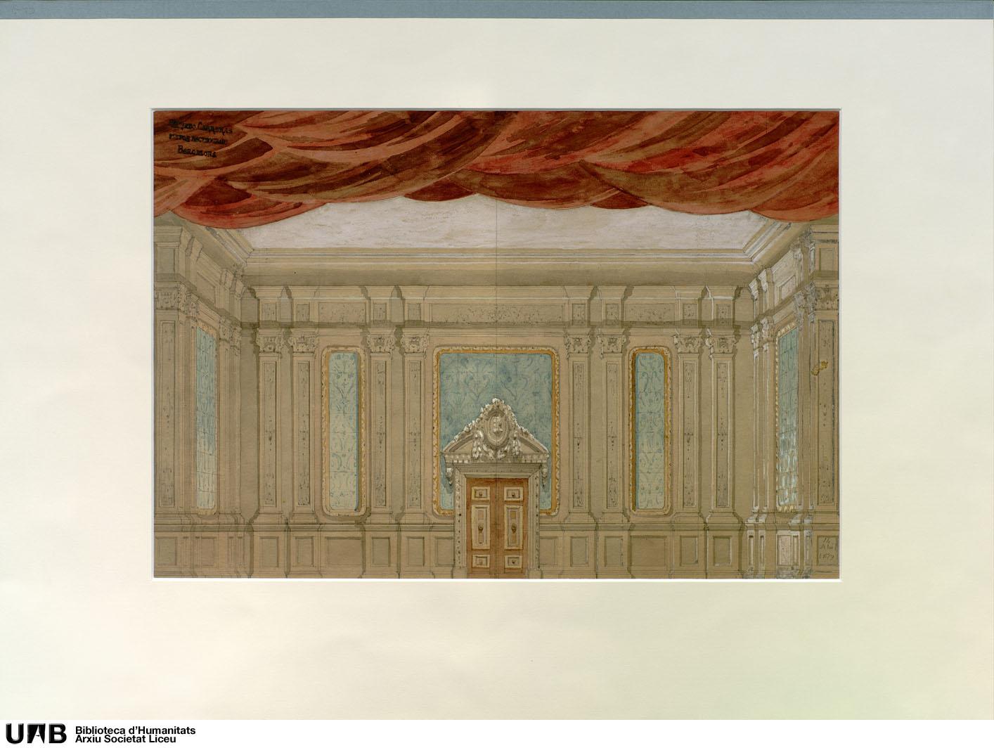 [Escenografies de repertori : interior de palau]