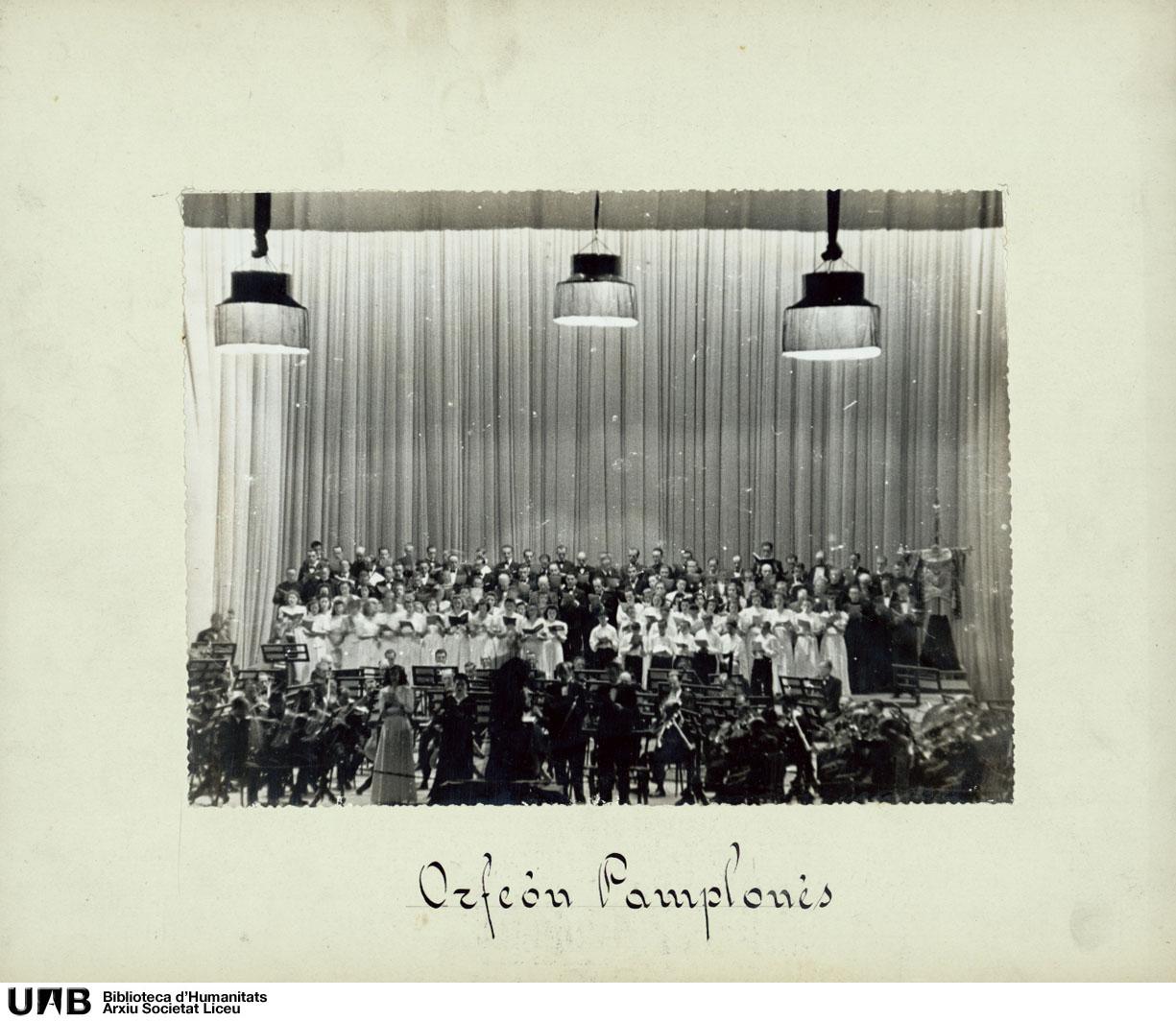 Concert de l'Orfeón Pamplonés